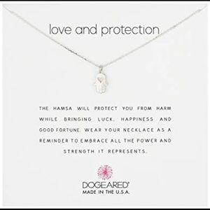 Love & Protection Hamsa Necklace